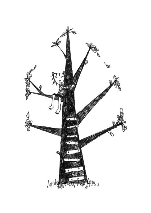 Jammer og kanari/Illustrerte dikt, «Frugt» Forf. Karen Marie Oma Publica bok 2010