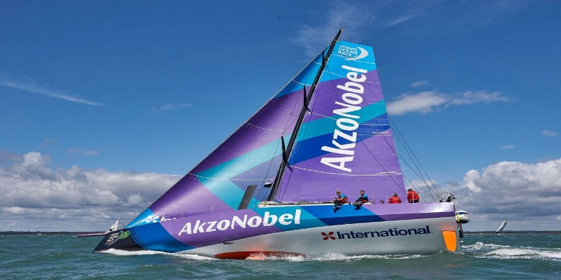 COVERING THE VOLVO OCEAN RACE FOR #TEAMAKZONOBEL