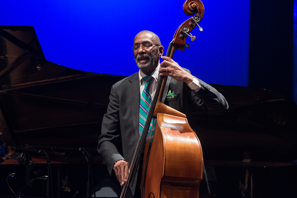 Ron Carter photo : Jean-Michel Ducasse