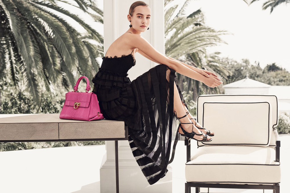 Salvatore Ferragamo S/S 16 campaign  Photo by: Craig McDean