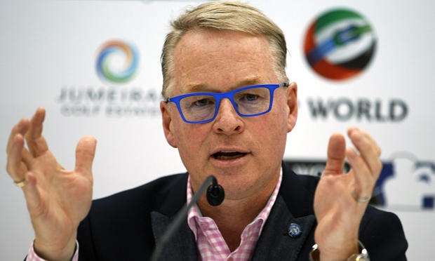 Keith Pelley, the European Tour's main man