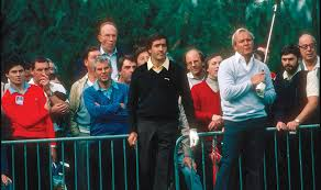 before Seve carried that on.