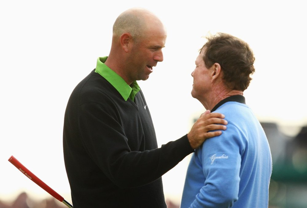 Turnberry 2009 - Cink and Watson
