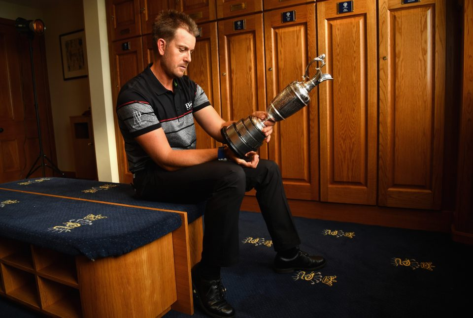 Stenson shows no signs of slowing down at 40!