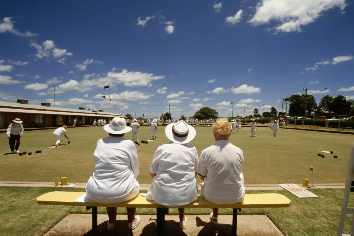 Bowls or golf. Literally what Aussies do when they are over 70.