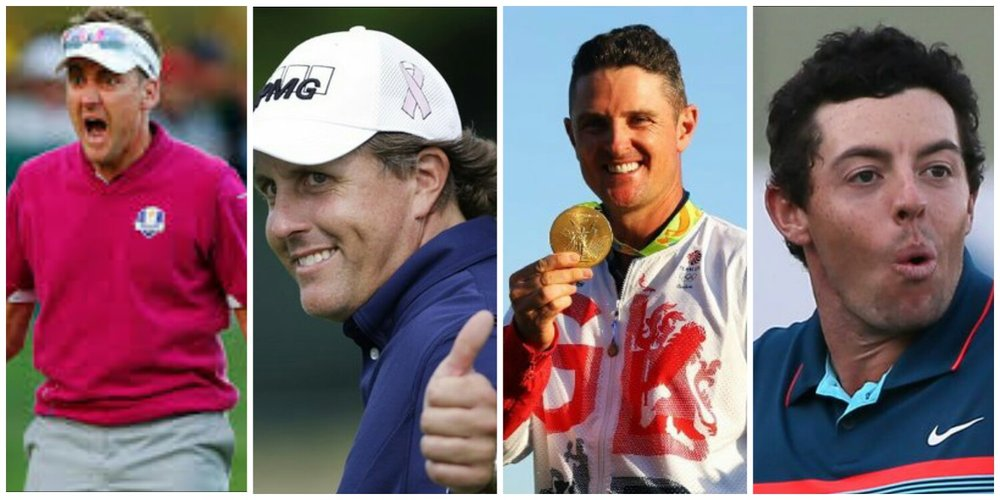 Poulter, Mickelson, Rose, McIlroy