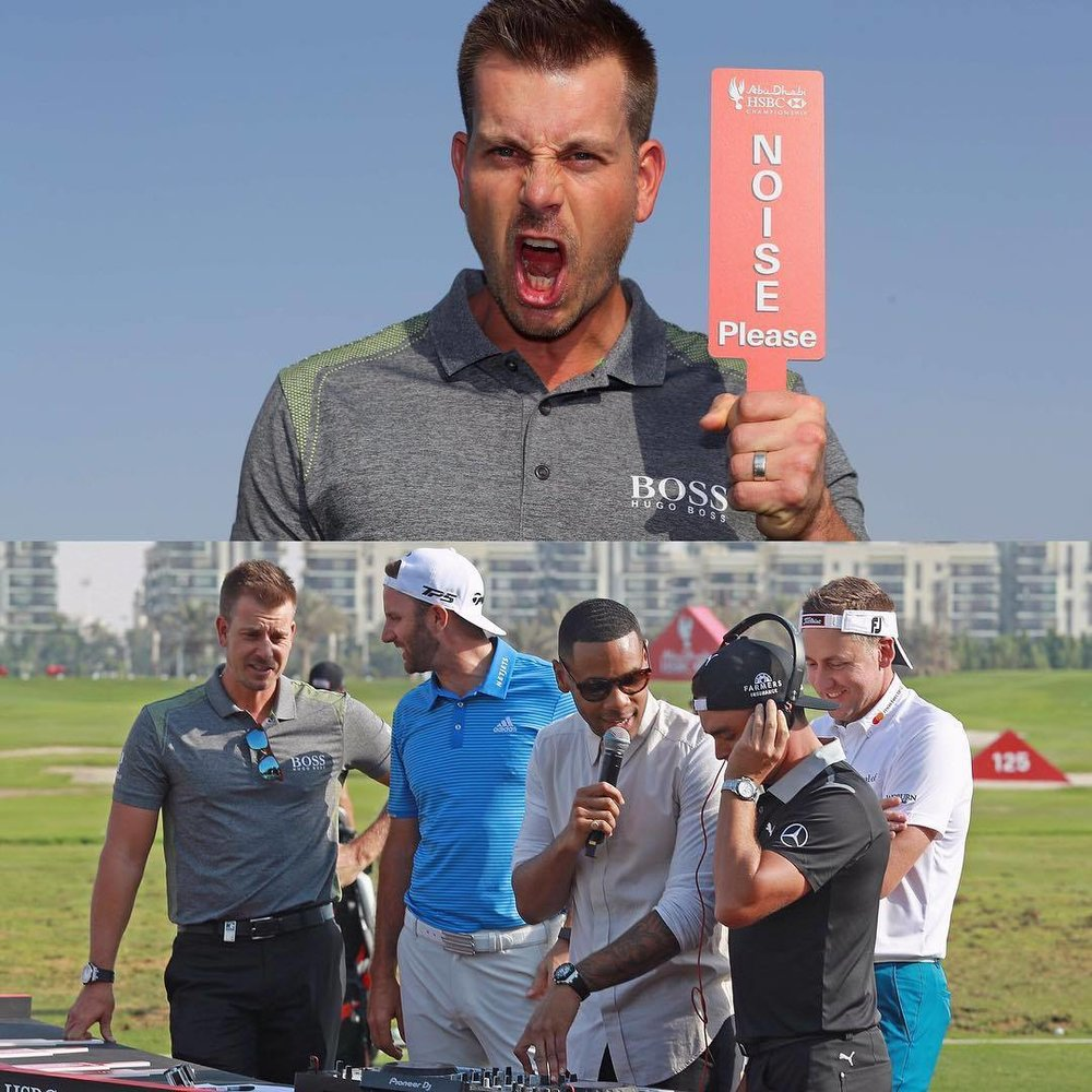 From Instagram here is Henrik out in Abu Dhabi this week DJing with Reggie from Top of the Pops. Poults is wearing his visor backwards because he is cool, I bet his banter was mental!