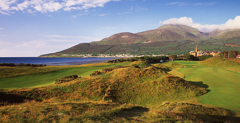 Proper golf at Royal County Down... one of the greats