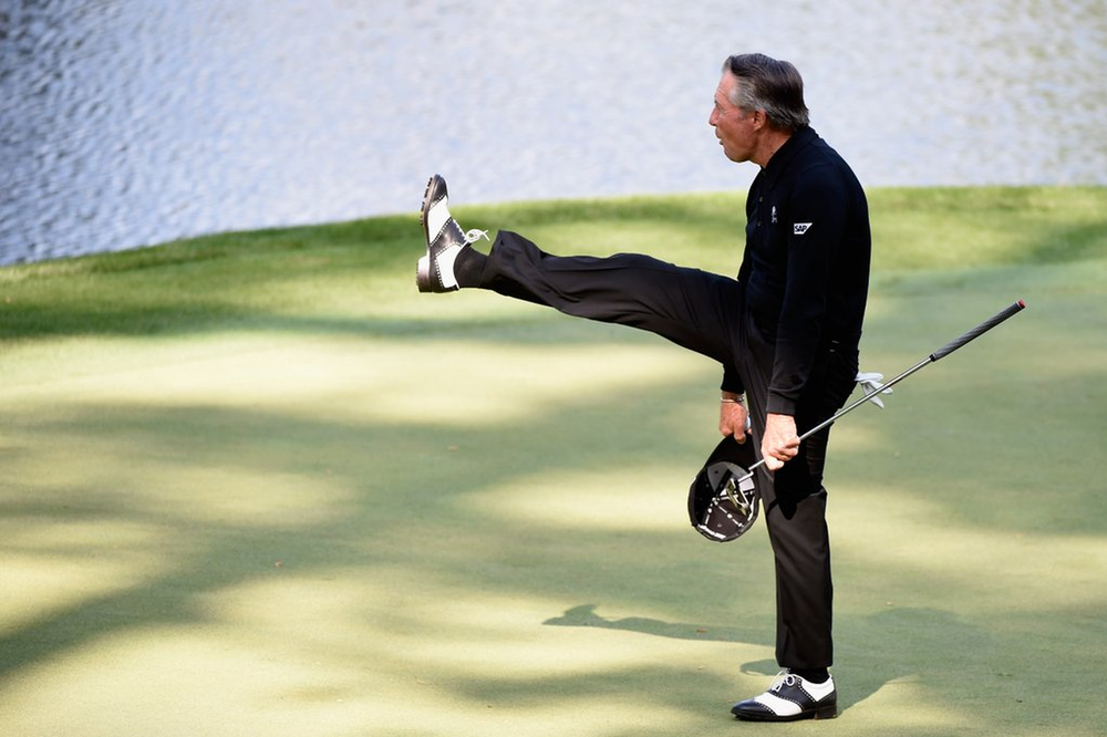 Gary Player is 80 so you have no excuse!