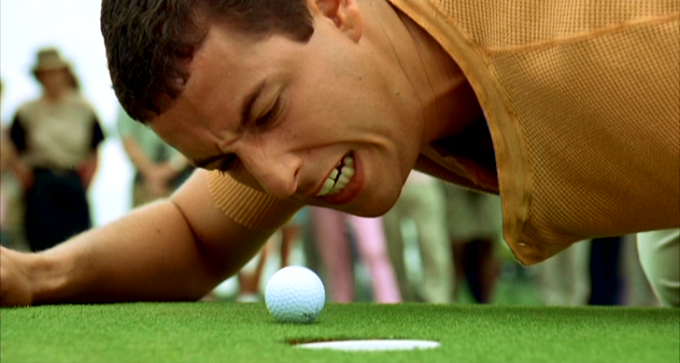 Like on Happy Gilmore all you need to worry about is sending the ball to its home