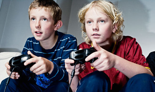 Fair play to the kids I still play computer games. Need to get their attention though!