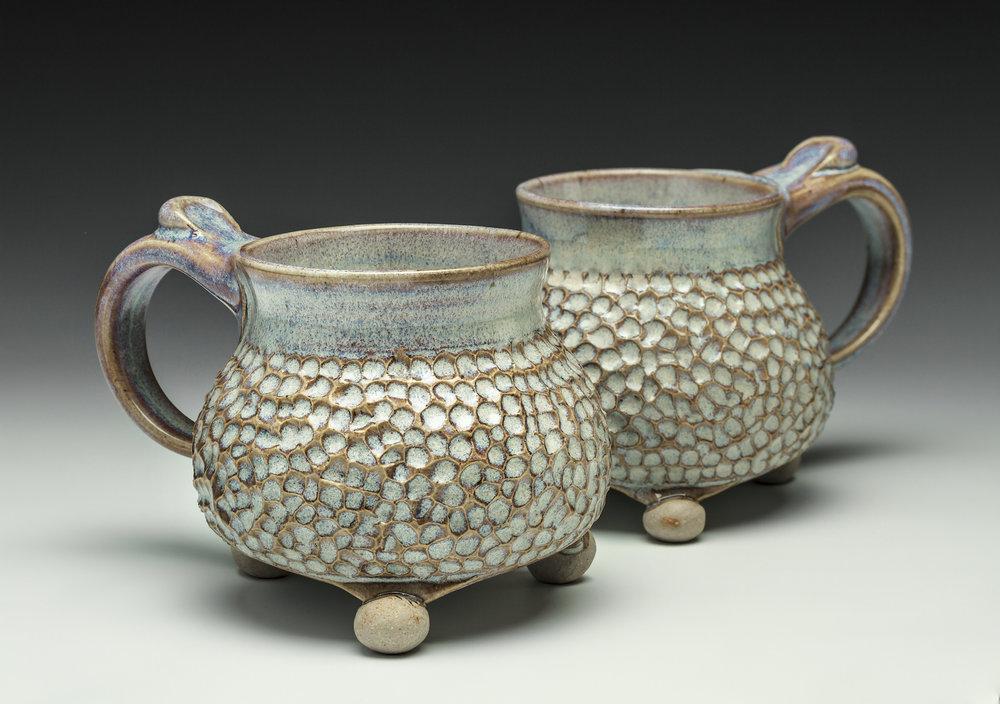 Carolina Coral is one of six popular glaze patterns.