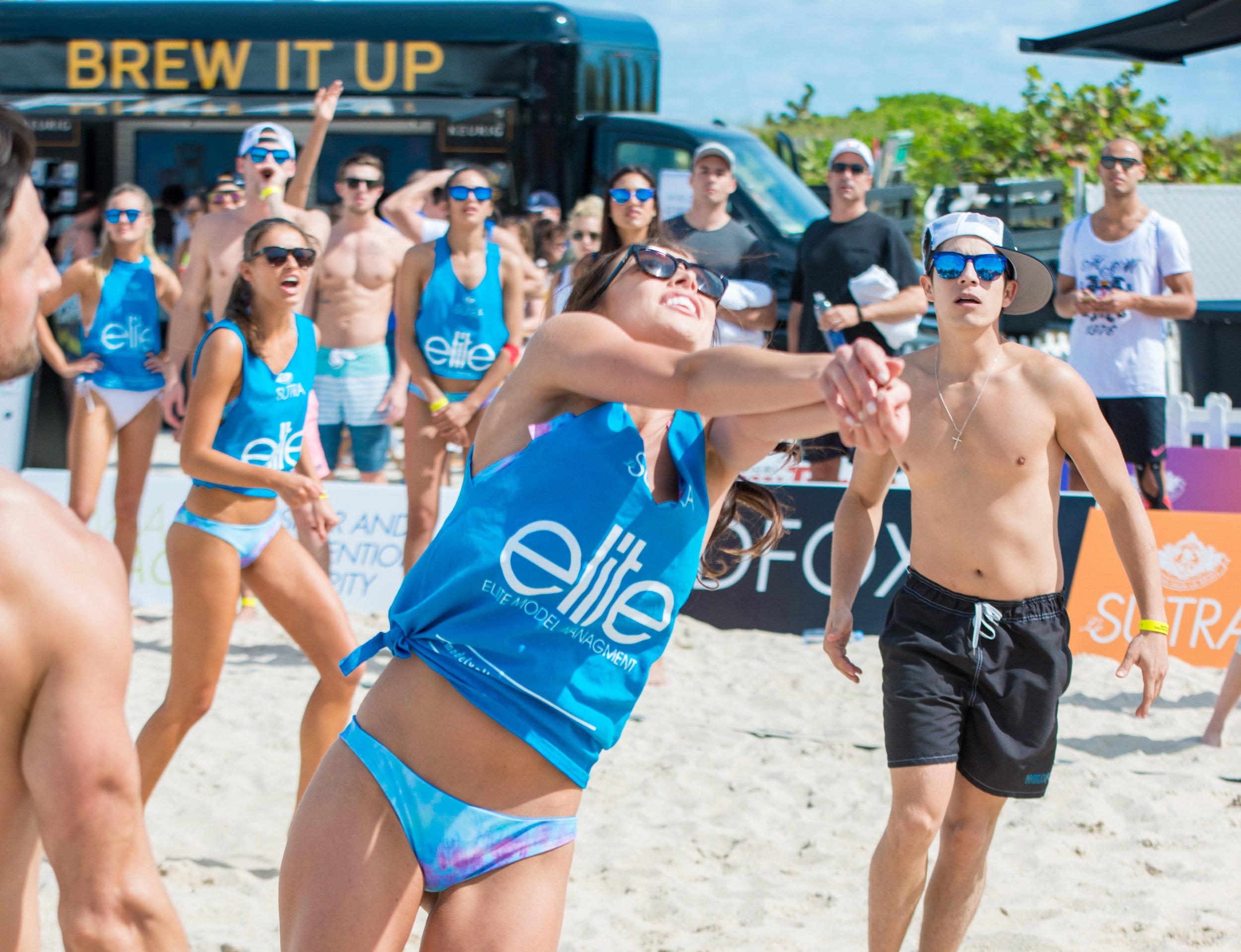 Model Volleyball Tournament Miami Beach 2015