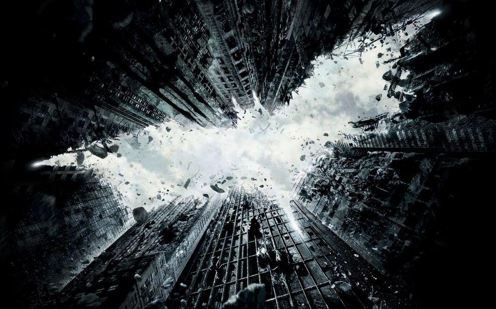 "Teaser poster for ""The Dark Knight Rises"""