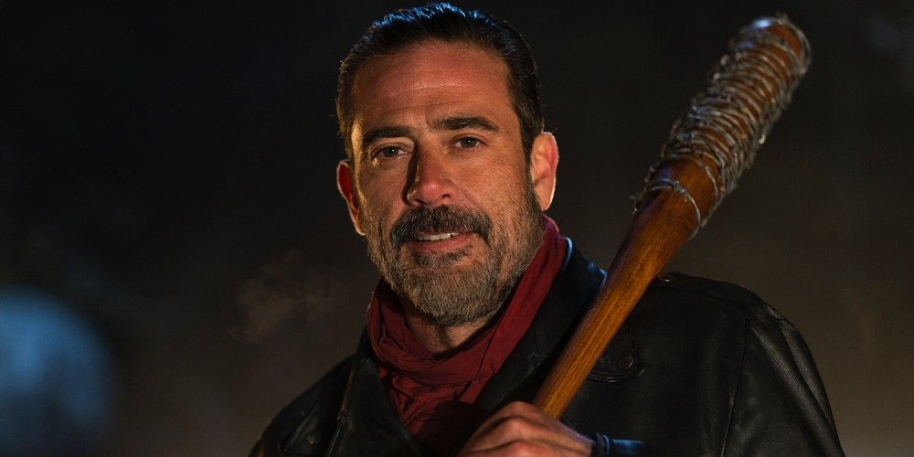 Jeffrey Dean Morgan as Negan. Image from AMC.