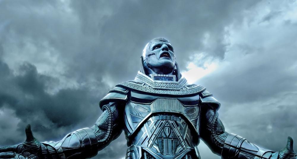 Oscar Isaac as title villain Apocalypse/En Sabah Nur. Image from foxmovies.com