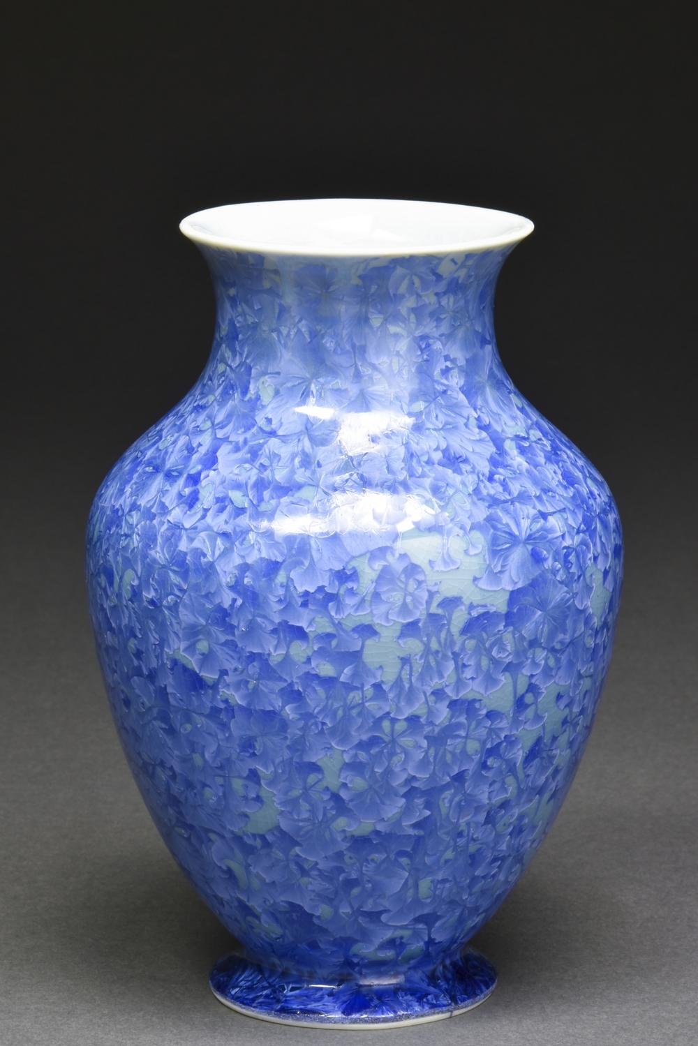 Crystalline Glazed Small Vase