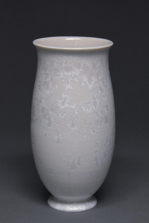 Crystalline Glazed Vase
