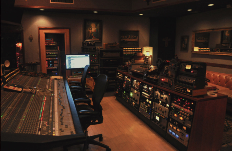 The Control Room at The Smoakstack