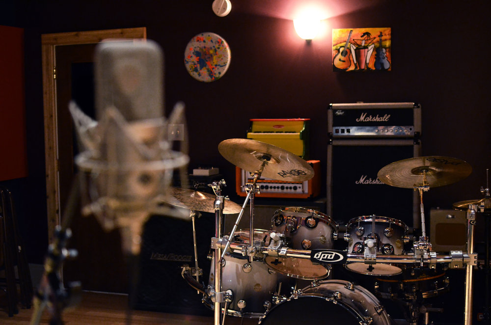 The Record Shop Drum Room