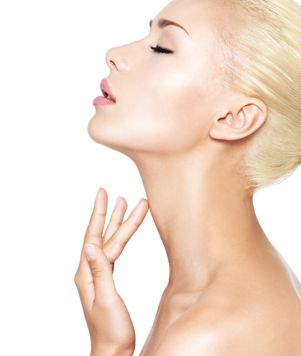 A chin implant and neck liposuction can help give you a youthful profile