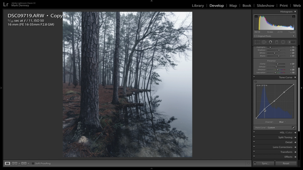 6 Lightroom Tips to Create Moody Landscape Photos 03