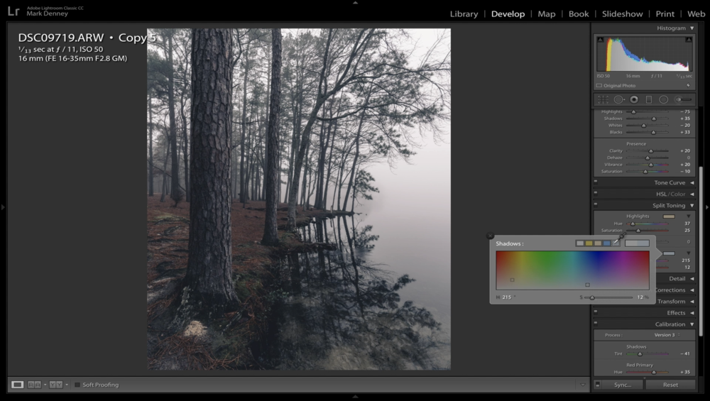 6 Lightroom Tips to Create Moody Landscape Photos 04