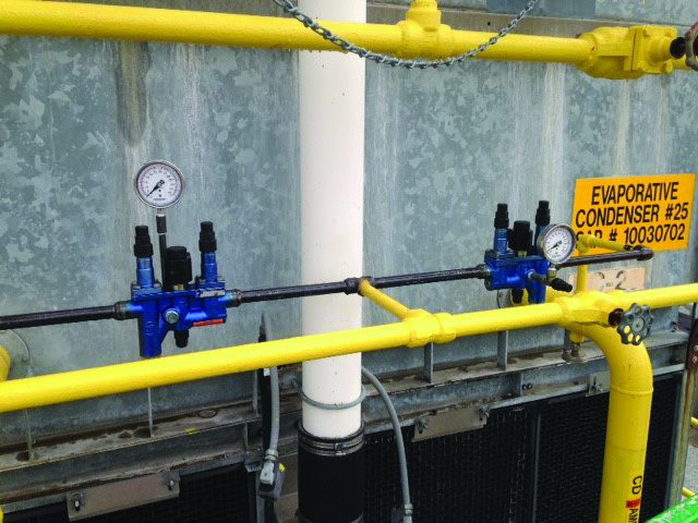 Midwest USA Evap-Condenser Installation