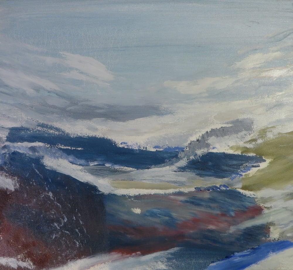 Blue Landscape, 2012