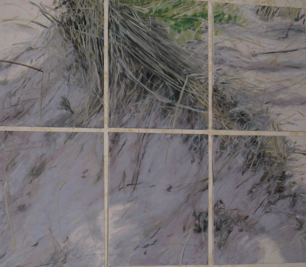 Six Canvas Dunes, 2007, SOLD