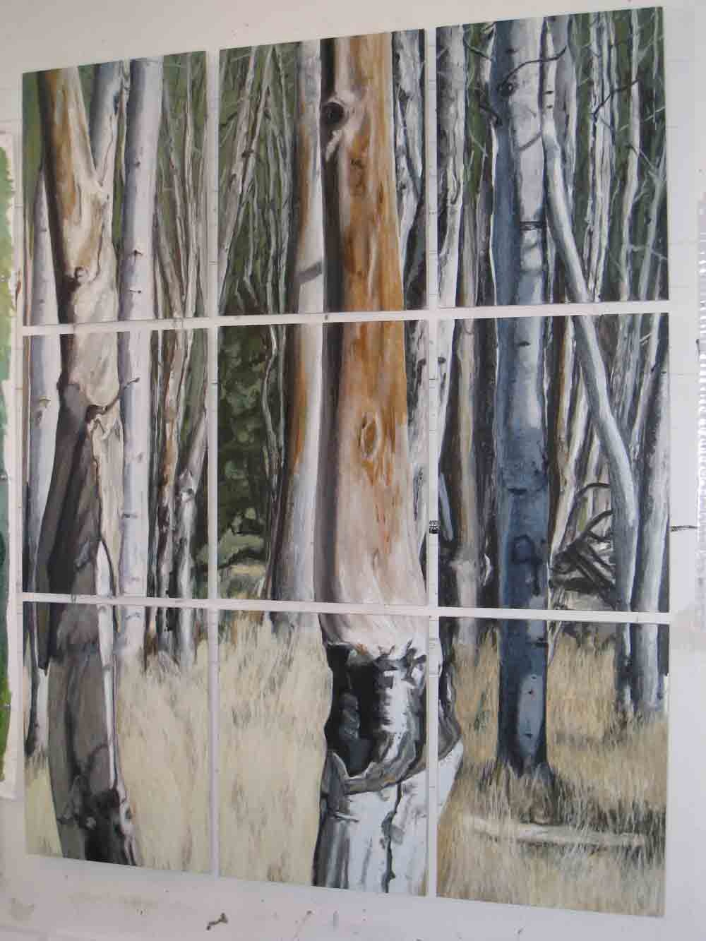 Birch Forest, 2007, SOLD