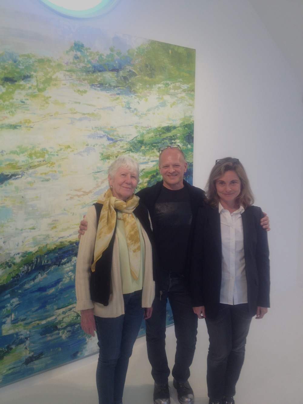 Mary Heilmann & Sara De Luca, Ille Arts May 2015