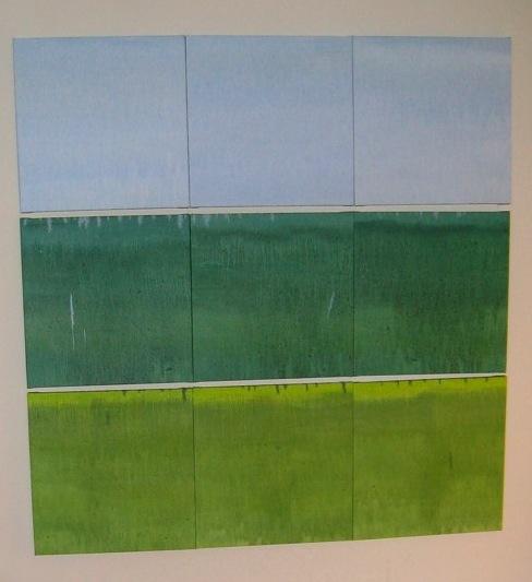 Tri-Color Landscape, 2008