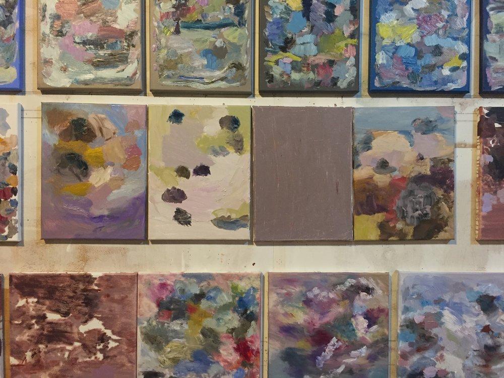 Studio Wall, 10/23/16