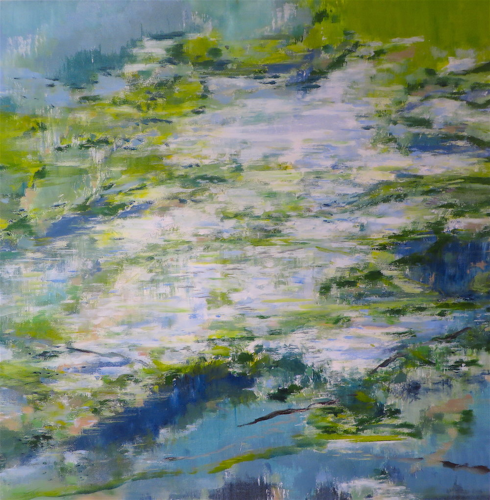 Earth Green Water Blue, 2012, SOLD