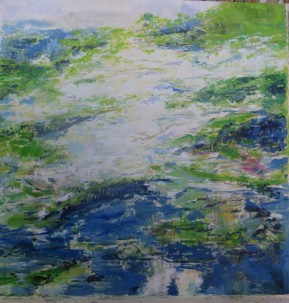 Earth Green Water Blue, 2015