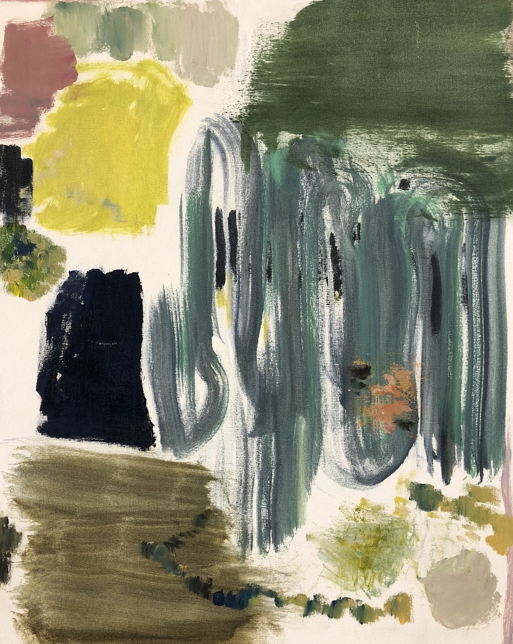 Jade Yellow Abstraction, 2015
