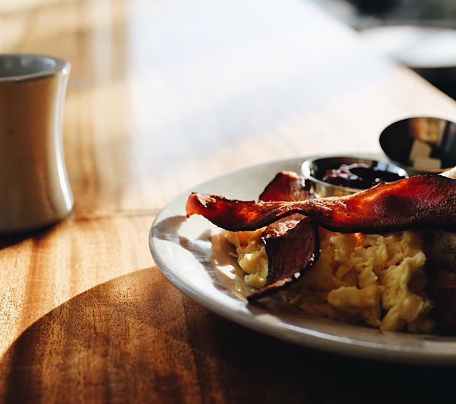 Join us for breakfast, 8:00 a.m. any day of the week.