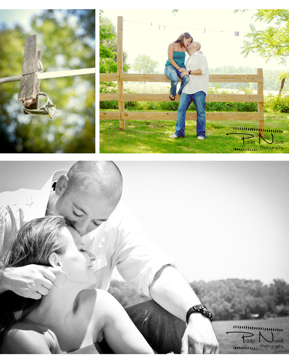 Engagement photo shoot by Paola Nazati photography