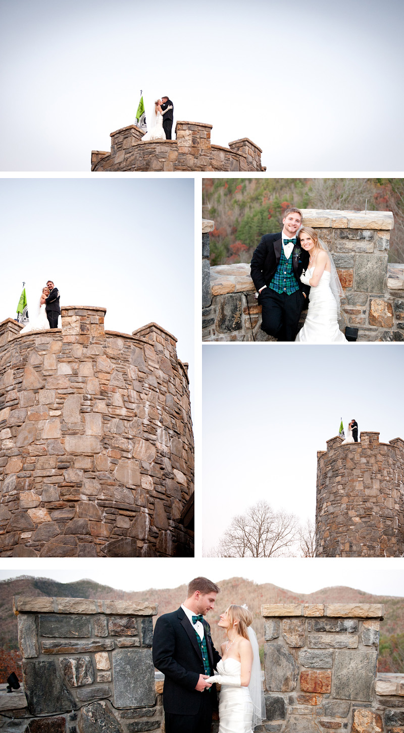 Bryan and Karens wedding at castle ladyhawke