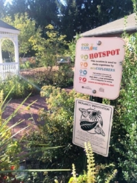 Visit any public library in Buncombe County to view an ecoEXPLORE Hotspot.