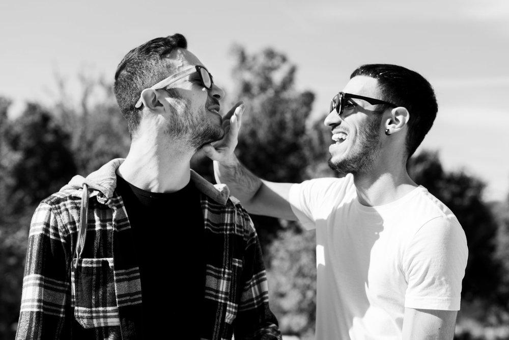 sesión pareja gay Madrid