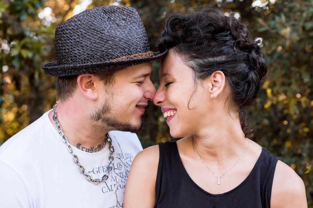 naso-naso amore coppia