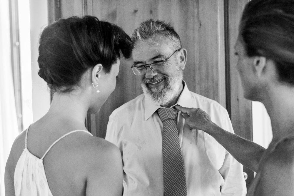 novia-padre-hermana-blanco_y_negro-cariño
