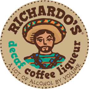 Richardos Logo tan bg.png