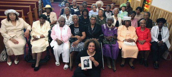 "Author Alysia Burton Steele poses with 29 Delta Jewels July 11 in Mound Bayou during her presentation about her book ""Delta Jewels: In Search of My Grandmother's Wisdom."" Photos by Bobby D. Steele, Jr."