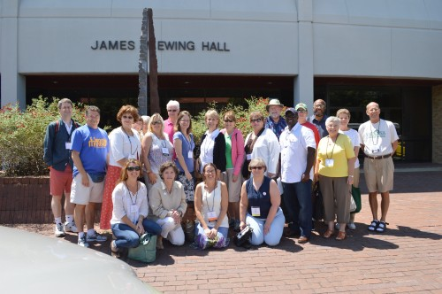 The Delta Center for Culture and Learning recently provided a tour to teachers from the National Conference of Geography Educators.