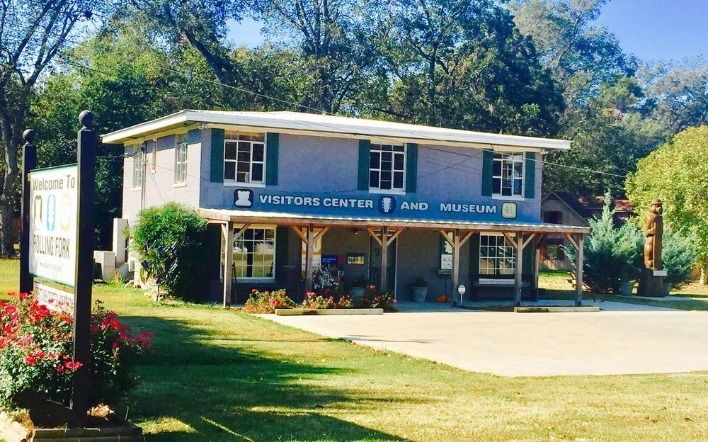 Rolling Fork Visitors Center and Museum - Interpretive displays and artifact preservation