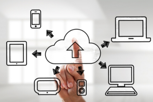 Data transfer between electronic devices, cloud, phone, laptop, tablet