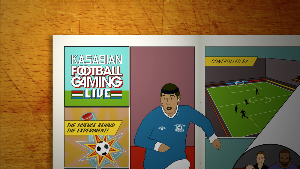 Kasabian Football Gaming Live